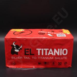 50 shots - EL TITANIO cake